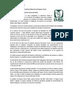 Fundación del Instituto Mexicano del Seguro Social
