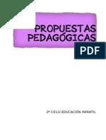 PROPUESTAS PEDAGÓGICAS