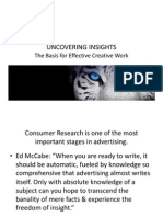 Uncovering Insights The Basis for Effective Creative Work Class_5