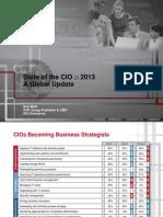 State of the CIO 2013