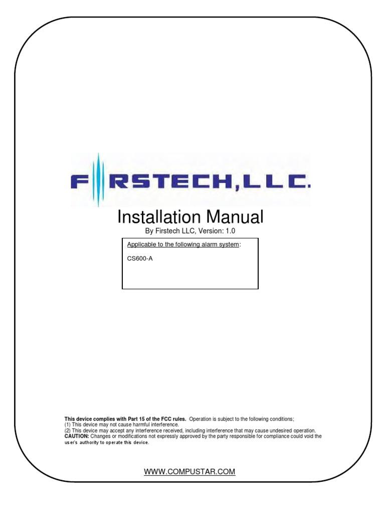 cs600 a v1 0 install manual electrical connector electronic rh scribd com Compustar CM5200 Manual Compustar Wiring Diagram 2007 Hummer