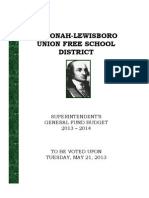 Katonah-Lewisboro school budget proposal
