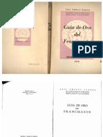 Guia de Oro Del Francmason_luis Umbert Santos