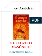 El Secreto Masonico Robert Ambelain