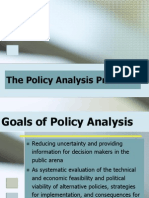 Policy Framework and Methods 2008