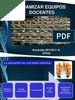 Dinamizar Equipos Docentes Barakaldo 28-2-2013