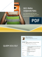 SEO Para Web Writers