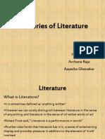 Theories of literature