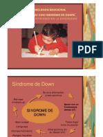 3 Inclusion Escolar de Personas Con SD