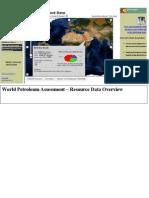 World.petroleumassessment.resourcedataoverview