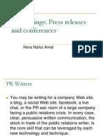 PR Writings