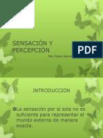 3. SENSACIÓN Y PERCEPCIÓN