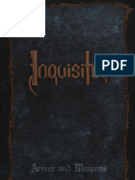 Inquisitor Armor and Weapons