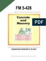 fm 5-428 concrete and masonry