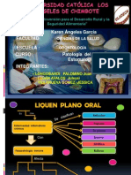 Patologia Liquen Plano Oral
