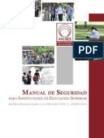 Manual de Seguridad Anuies