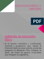 EDUCACION FISICA Y DEPORTE II TEMA Presentación1