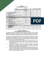Especificaciones Tecnicas Puertas y Ventanas