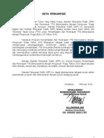 Kata Pengantar SPP TTG 2013
