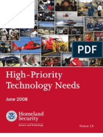 High Priority Technology Needs