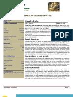 Havells India Jan 09 Fairwealth Securities Initiate-Buy Target280