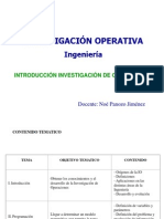 Clase Inicial Io1 2013