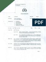 SK Kapolri 2001 Larangan Satpam Ikut SP