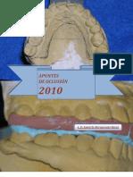 PDF, Apuntes Oclusión II, 2010