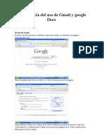 Experiencia Del Uso de Gmail y Google Docs Cindy y Andres