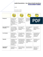 PYP-3 Presentation Assessment Rubric