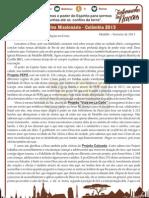 Carta PAM 2013 - Sara Jane - Fev. 2013
