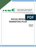 ITECs Social Media Plan (1)