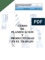 Planificacion y Productividad- COSAPI