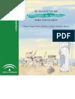 El Estatuto de Autonomía de Andalucía Para Escolares