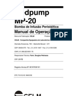 BOMBA INFUSÃO CELM MP20