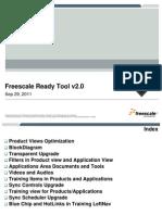 Freescale Ready v2.0 Knowledge Transfer
