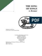 Cantar de Los Cantares Brenner
