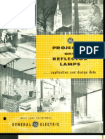 GE Projector & Reflector Lamp Application & Design Brochure 1959