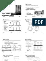 rigid frames analysis