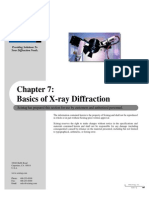 Basics of X-ray Diffraction
