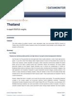 Thailand - PESTLE Analysis