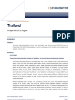 Thailand - PESTLE Analysis
