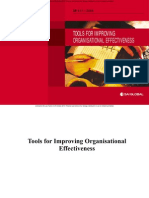 Tools for Improving Organisational Excellence