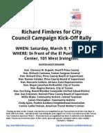 Kickoff Rally
