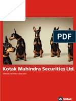 17 Kotak Mahindra Securities Ltd. 2007