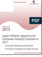 Japan Athletic Apparel and Footwear Industry Outlook to 2017