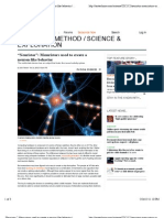 """Neuristor"" Memristors used to create a neuron-like behavior | Ars Technica"
