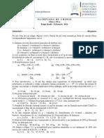 Subiecte Clasa 11