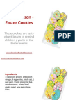 Object Lesson - Easter Cookies