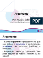 Aula 02 - Raciocínio Lógico - Argumento
